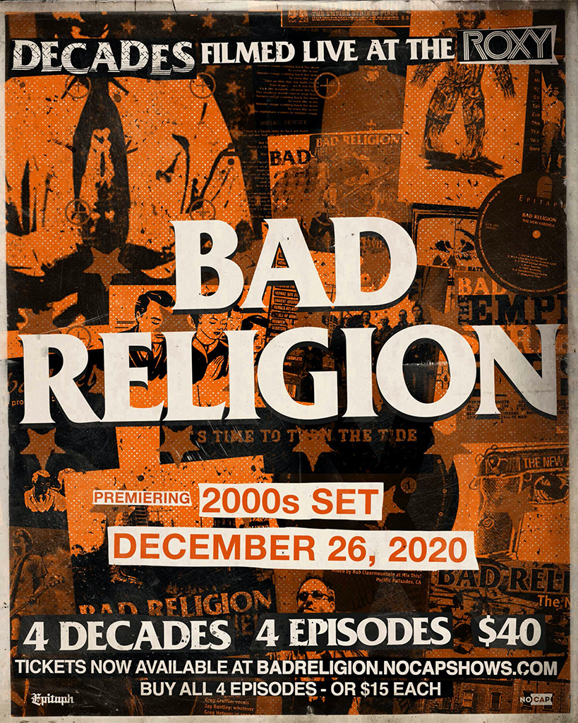 Bad Religion decades