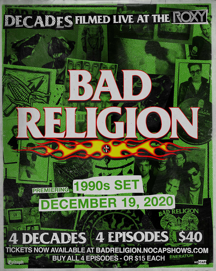 Bad Religion decades