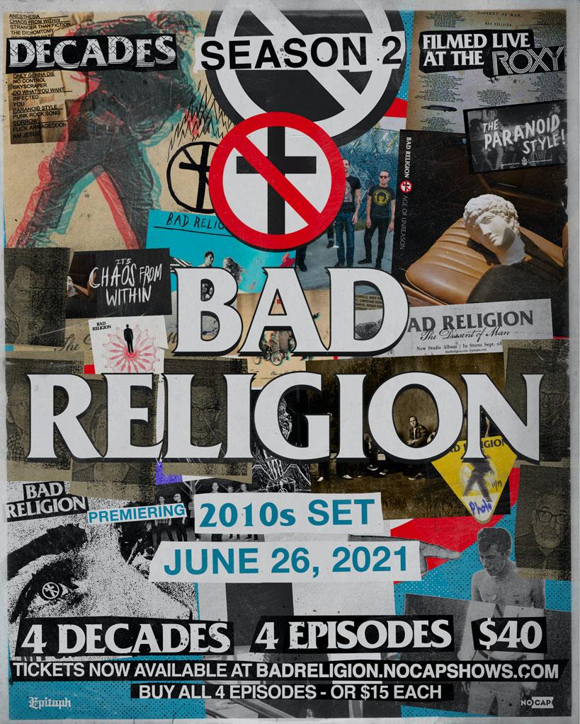 Bad Religion Decades 2 10s