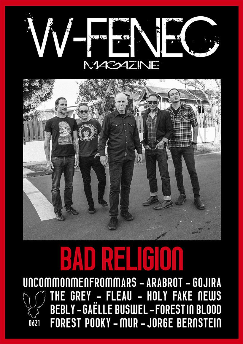 W-Fenec Mag Bad Religion